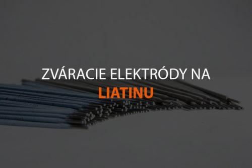 Zváracie elektródy na liatinu